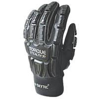 Skytec Skytec Torque Stealth Impact-Resistant Gloves Black Large