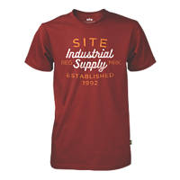 "Site Trade T-Shirt Red Large 42-44"" Chest"