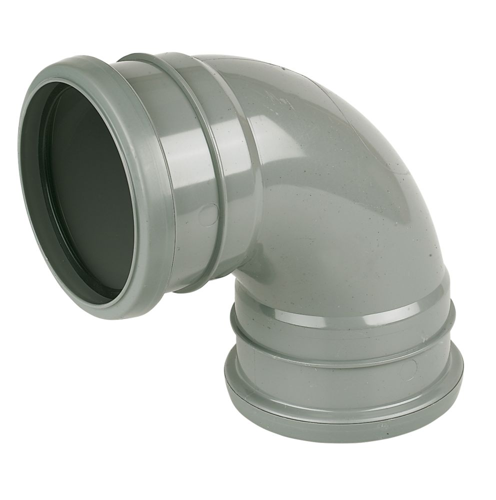92.5° (87.5°) Bend Double Socket Grey SP561