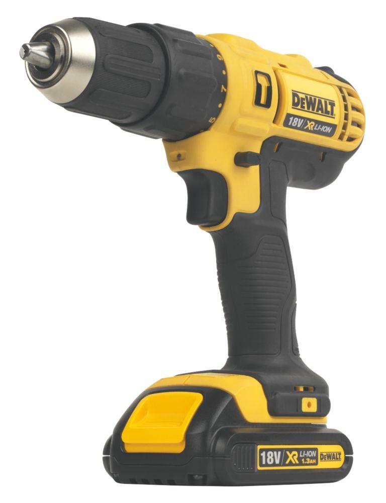 DeWalt DCD776C2-GB 18V 1.3Ah Li-Ion Cordless Combi Drill XR
