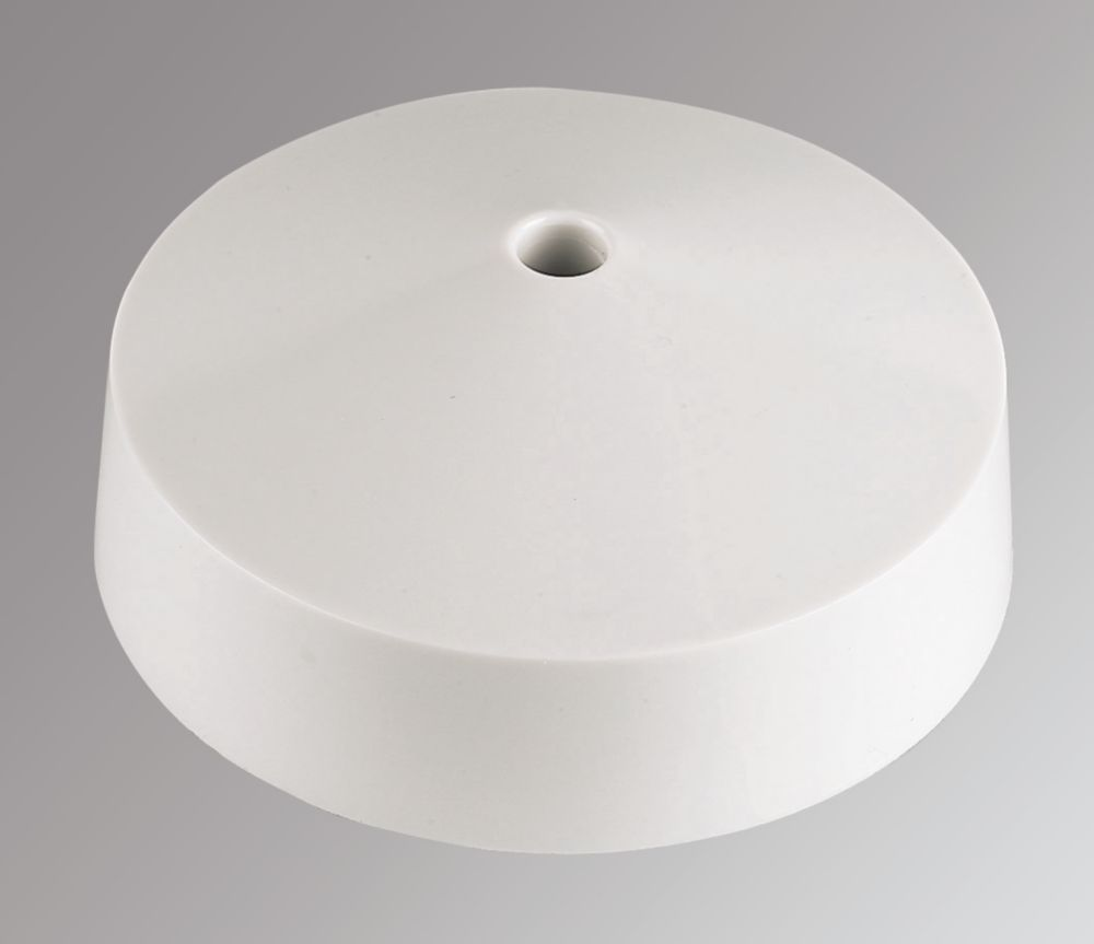MK Ceiling Rose 4-Terminal White