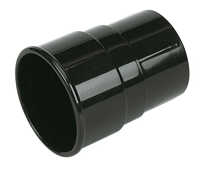 Down Pipe Socket Black 68mm