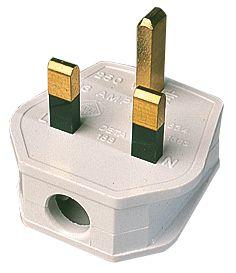 White Plug 13A