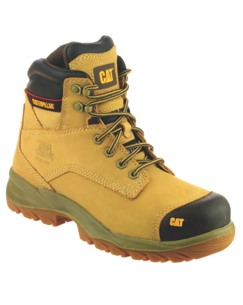 Caterpillar Spiro S3 Honey Safety Boots Size 8