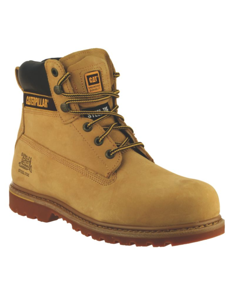 Caterpillar Holton S3 Honey Safety Boots Size 10