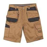 "Site Jackal Multi-Pocket Shorts Stone / Black 32"" W"