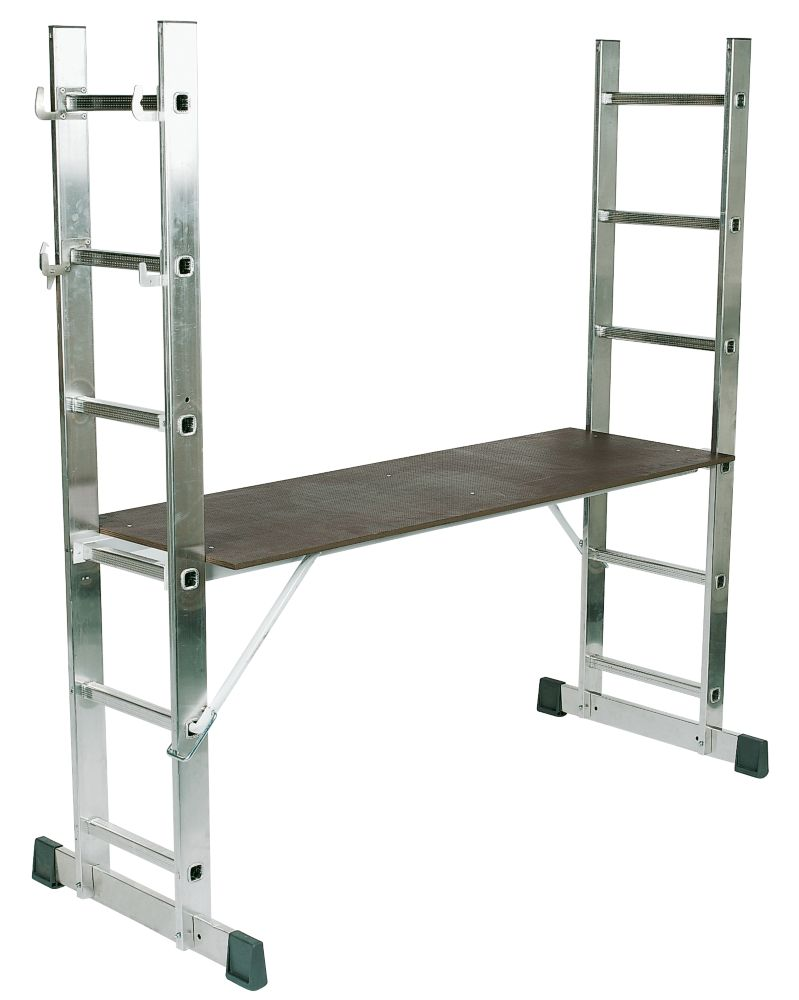 4-Way Combination Platform Ladder