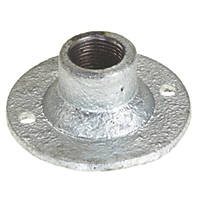 Deta Galvanised Spouted Dome Covers 20mm Pack of 10