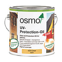 Osmo UV Protection Oil Satin Extra Clear 2.5Ltr