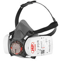 JSP Force 8 Half-Mask with Press-to-Check Filters P3