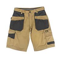 """Site Hound Multi-Pocket Shorts Stone / Black 30"""" W"""