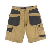"Site Hound Multi-Pocket Shorts Khaki / Black 32"" W"