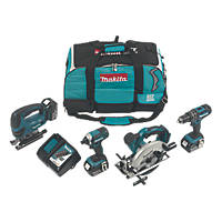 Makita DLX4088MX1 18V 4.0Ah Li-Ion 4-Piece Cordless Power Tool Kit