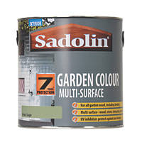 Sadolin Garden Colour 7-Year Woodstain Pale Sage 2.5Ltr