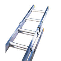 Lyte Trade ELT230 Double Extension Ladder 10 Rungs Max. Height 4.88m