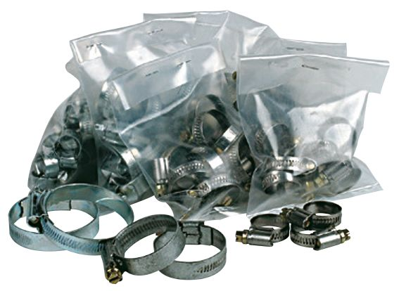 Hose Clip Selection Pack 60 Pieces
