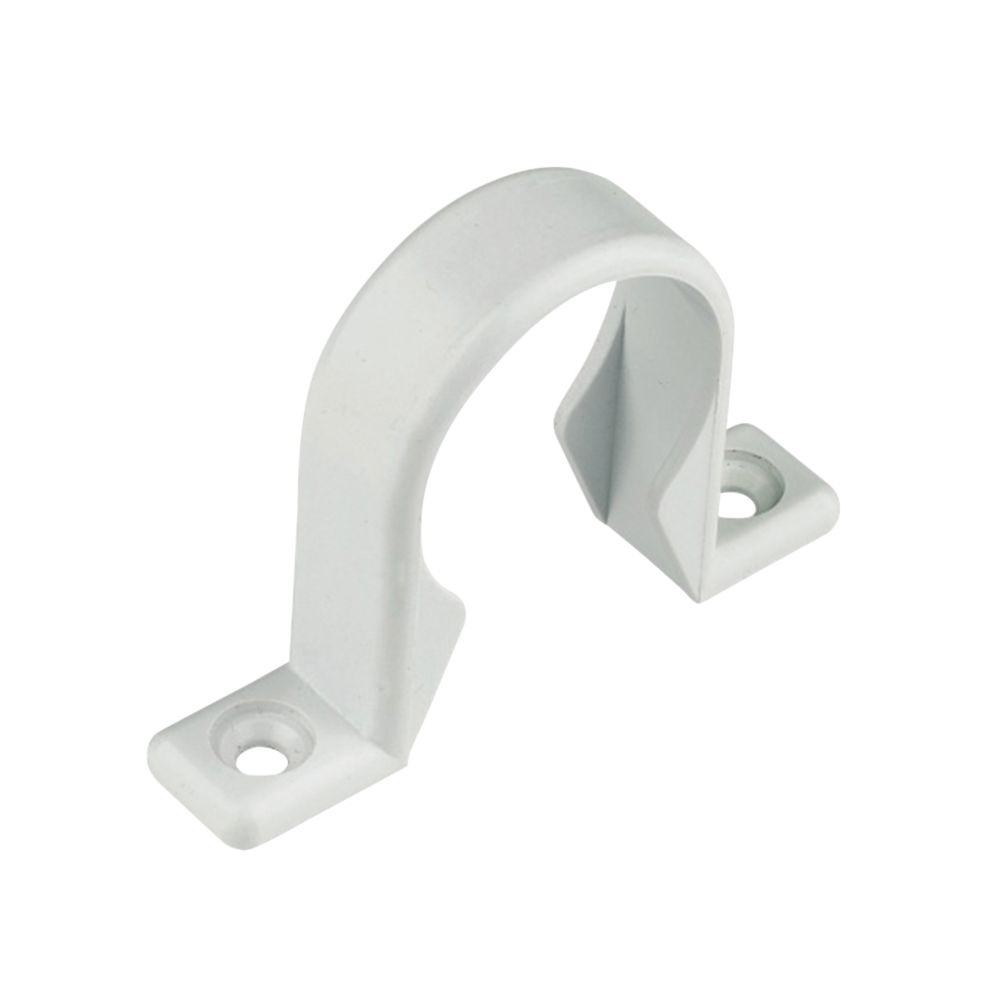 FloPlast Pipe Clip 40mm Pack of 10