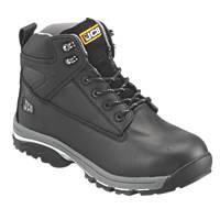 JCB Fast Track Safety Boots Black Size 10