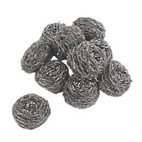 Minky Stainless Steel Scourers 10 Pack