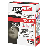 Toupret TX110 Expert Rapid Drying Interior Filler 2kg