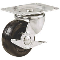 Select Heavy Duty Braked Swivel Castor 75mm