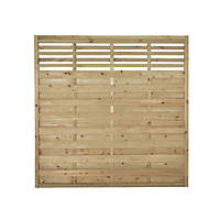 Forest Kyoto Fence Panels 1.8 x 1.8m 8 Pack