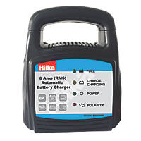 Hilka Pro-Craft 83650006 6A RMS Battery Charger 12V