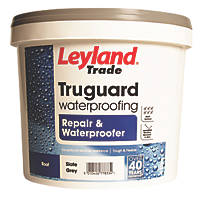 Leyland Trade Truguard Repair & Waterproofer Slate Grey 4Ltr