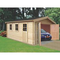 Bradenham 28 Log Cabin 3.8 x 4.4m