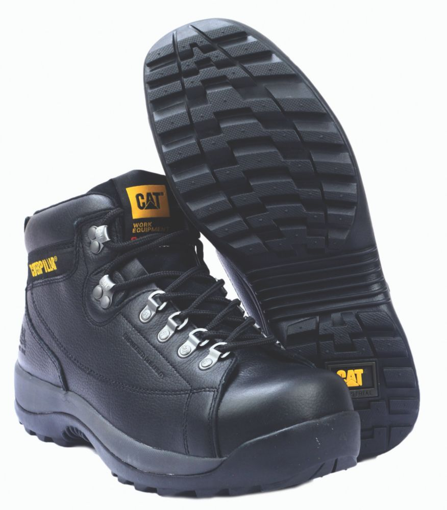 Caterpillar Hydraulic S3 Black Safety Boots Size 12