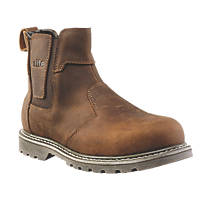 Site Mudguard Dealer Safety Boots Brown Size 7