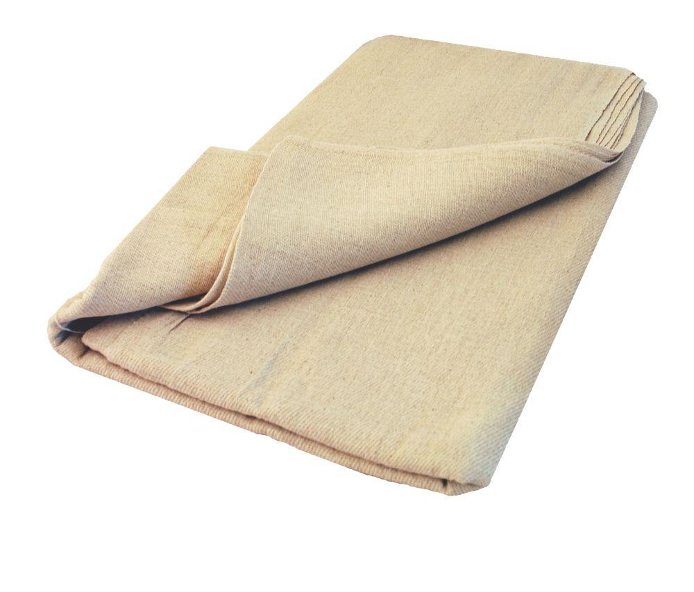 No Nonsense Cotton Twill Dust Sheet 6 x 3'