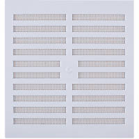 Map Vent Adjustable Vent White 229 x 229mm