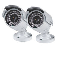 Swann PRO-842 High-Resolution Bullet Security Cameras 2 Pack