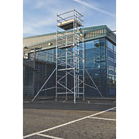 Lyte SF18DW67 Helix Double Width Industrial Tower 6.7m