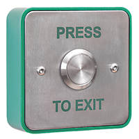 Briton Vandal-Resistant Push-To-Exit Button