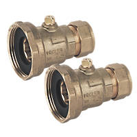 Pegler Pump Valves 22mm x 1½""