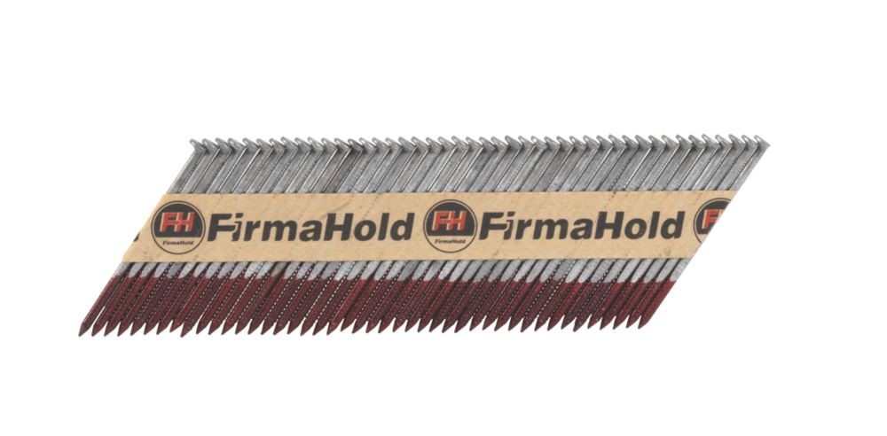 FirmaHold Galvanised Ring Framing Nails 2.8 x 50mm Pack of 3300