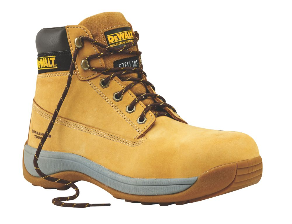 DeWalt Apprentice Safety Boots Wheat Size 7