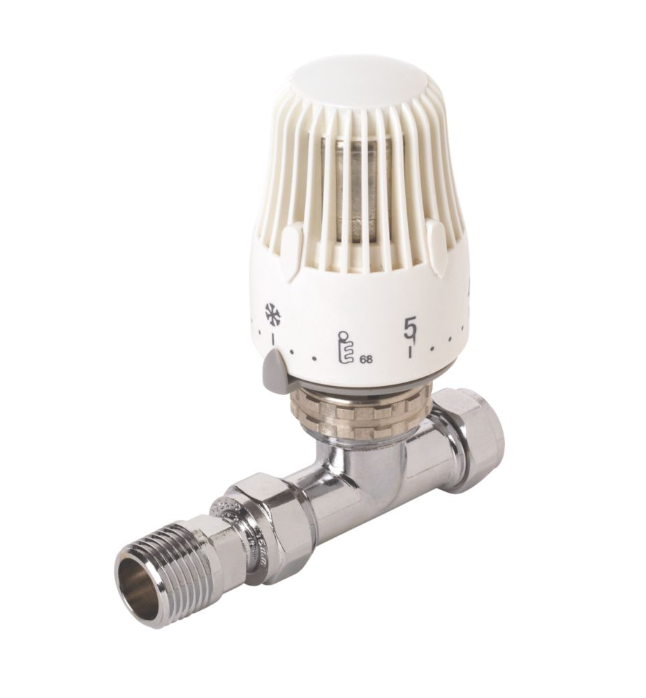 White Straight 15mm TRV