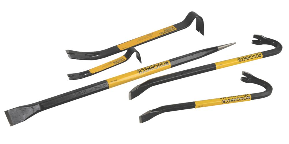 Roughneck Utility, Wrecking & Aligning Bar Set 5 Piece Set
