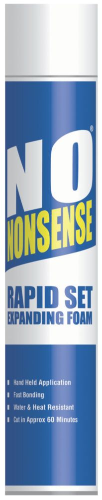 No Nonsense Rapid Set Expanding Foam Hand-Held 750ml