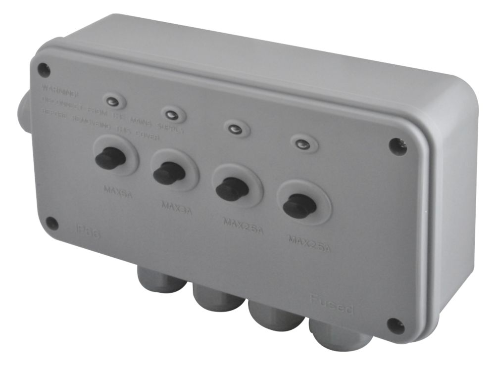BG 4-Way Weatherproof Power Controller