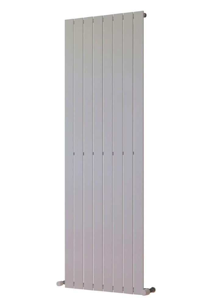 Oceanus Flat Vertical Designer Radiator White 1800 x 595mm 3782BTU