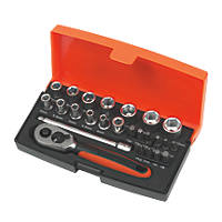 "Bahco ¼"" Pocket Socket Set 25Pcs"