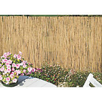 Apollo Natural Willow Reed Garden Screen 1 x 4m