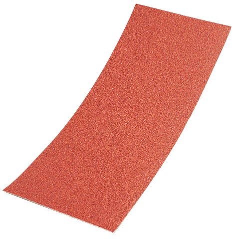 Sandpaper 1/2 Sheets Aluminium Oxide 120 Grit Pack of 10