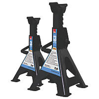 Hilka Pro-Craft 3-Tonne Ratchet Axle Stands Pair