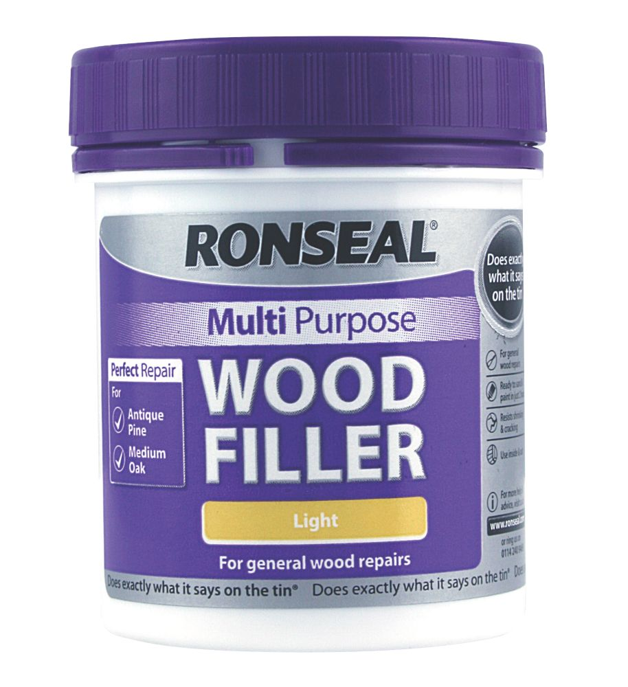 Ronseal Multipurpose Light Woodfiller 250g