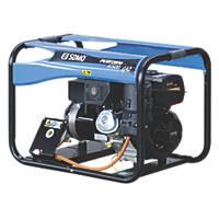 SDMO 6500LPG  Portable Generator 110/230V